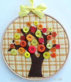 Such a pretty autumn craft for older children, which could of course be adapted for different seasons. Step by step instructions on the website.