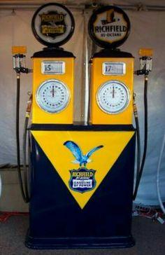 Rare Richfield Dual Gas Pump