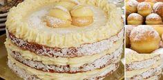 TORTA BOMBA DE CREMA PASTELERA LO MÁS SIMPLE Y DELICIOSO QUE TU HARÁ!   Receitas Soberanas Martha Stewart Recipes, Pan Dulce, Cupcake Cookies, Cupcakes, Deli, Camembert Cheese, Cake Recipes, Cheesecake, Desserts