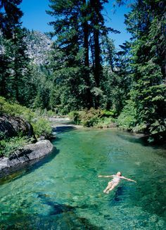 Jefferson State- Northern Cali, Canyon Creek Trail; also leads to 3 waterfalls :)