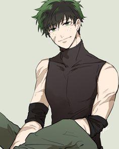 Izuku Midoriya - My Hero Academia Boku No Hero Academia, My Hero Academia Memes, Hero Academia Characters, My Hero Academia Manga, Manga Anime, Comic Anime, Fanarts Anime, Villain Deku, The Villain