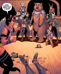 owlpockets:  Rat Queens #16  #CriticalRole #geekandsundry #VoxMachina