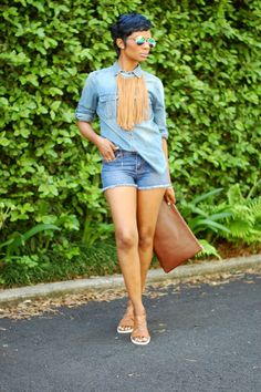 Fringe + Denim