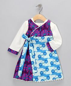 Take a look at this Royalty Fleece Ava Dress & Bodysuit - Infant, Toddler & Girls by ub2 on #zulily today!