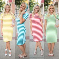 This dress is so easy to style!! I love it with a denim shirt around the waist Only $21.99 with sizes up to 3X!