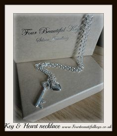 Hey, I found this really awesome Etsy listing at https://www.etsy.com/uk/listing/386946828/key-and-heart-necklace
