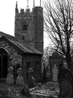 St Denys Church, Cornwall, England. The church bells are dated 1167 and 1176 and the church was built on the site of an ancient fort.