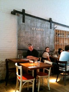 Le Cartet - Montreal. Best breakfast I've ever had