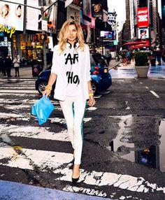 Jess Hart #fashion #editorial #zappos