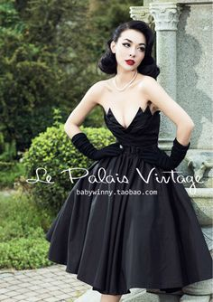 Find More Dresses Information about FREE SHIPPING Le Palais Vintage Limited…