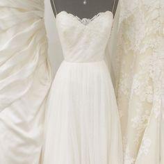 Hayley Paige's Blush Dahlia in some ivory company #instawedding #bride #weddinggown #realwedding #romantic #bridalstyle #ido #weddingphotography #theknot #weddingstyle #blush #dressshopping #breathtaking #instabride #dahlia #letsgetmarried #weddingplanner #marryme #blushbyhayleypaige #bridal #shesaidyes #engaged #mrandmrs #bridalinspiration #weddingdress #bridalgown #bridalinspiration #dahlia #hayleypaige #blush #thewhitegown #herecomesthebride