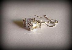 Bridesmaid Jewelry: Bridesmaids Earrings, Bridal Party Jewelry, Bridesmaid Gift, Crystal Bridal earrings, Wedding Jewelry, Wedding Earrings