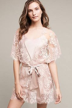 Blush Silk Kimono