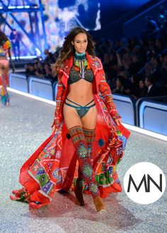Jasmine Tookes wearing the coveted fantasy bra during the Victoria's Secret Fashion Show was just one moment of Black Girl Slayage. See the rest.