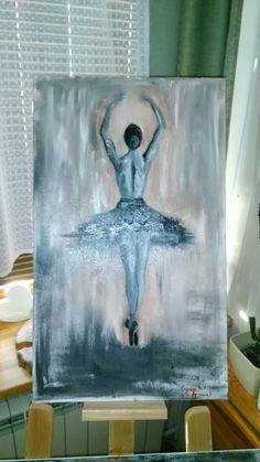 #Tancerka#olej#baletnica