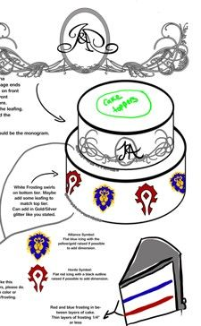 Soulbound: A World of Warcraft themed wedding
