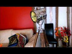Callista Tripod Floor Lamp From IndusLamp Tripod Lamp, Floor Lamp, Lamps, Home Appliances, Unique, Home Decor, Lightbulbs, House Appliances, Decoration Home