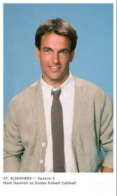 "Mark Harmon, ""St. Elsewhere""."