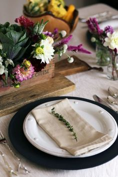 A Fall Harvest Tablescape