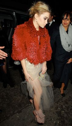 This is exquisitely genius...feather and tulle...texture brings it to a new level