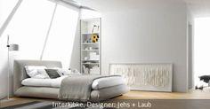 """Das Boxspringbett """"Jalis"""" fügt sich ideal in das moderne Schlafzimmer ein. Das Bett verfügt über einen klassischen Boxspring-Unterbau, wahlweise mit Taschenfederkern- oder Kaltschaummatratze. Dazu kann man zwischen diversen Bezugsstoffen wählen, die sich leicht austauschen lassen."""