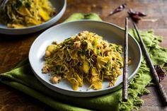 Stir-Fried Rice Noodles With Beets and Beet Greens Recipe - NYT Cooking