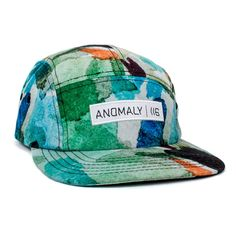 fc6ae5a4525 Lecrae  Anomaly Pattern  5 Panel Hat
