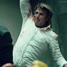 #Hannibal getting stabby.[spoiler]