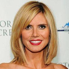 Short Hairstyles - Heidi Klum from #InStyle