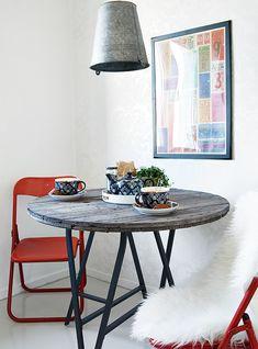 Ikea hack docksta table diy pinterest ikea hack - Tavolo docksta ikea ...