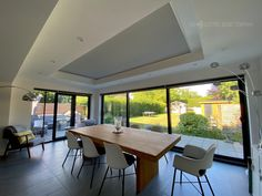 We fitted electric blinds to this large roof lantern in the heart of this beautiful property in Oxford. Our client wanted a way of controlling the glare on very sunny days and making the room feel cosier in the evening. To address this, we fitted a white blackout electric roller blind that is simple to open and close using the wall switch or an app on their smartphones. #electricblinds #electricrooflanternblinds #rooflanternblinds Electric Rollers, Electric Blinds, Roof Lantern, Roller Blinds, Sunny Days, Lanterns, Oxford, App, Heart