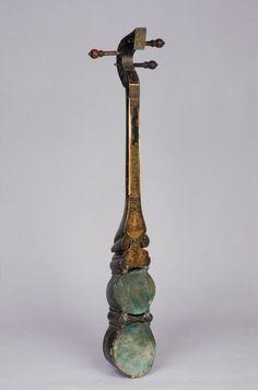 Sgra-Snyan  Date14th–16th century  Tibet  Wood, skin