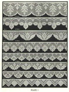 Book of Filet Crochet and cros