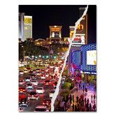 Found it at Wayfair - The City of Las Vegas by Philippe Hugonnard Graphic Art on Wrapped Canvas