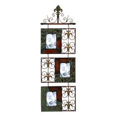 Antique Design Metal Wall Photo Frame - Free Shipping Today - Overstock.com - 15937565 - Mobile