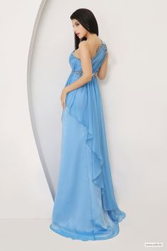 wedding checklist READY TO SHIP: Beautiful One Shoulder Beaded Gown $109.98