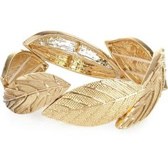 River Island Gold tone leaf stretch bracelet and other apparel, accessories and trends. Browse and shop 13 related looks.
