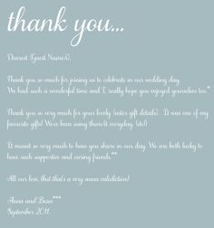 18 Best Thank You Note Wording images in 2019 | Valentines day