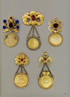 Traditional ukrainian jewelry - Dukachi