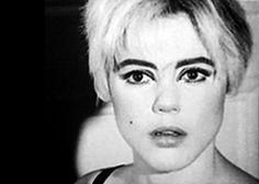 """Edie Sedgwick, American heiress and Andy Warhol """"Superstar"""" in 1965. #EdieSedgwick #AndyWarhol #PunkBeforePunk"""