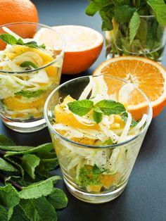 Am Fenchel scheiden sich die Geister: Die einen lieben ihn, die anderen nicht. Doch unser frischer Fenchel-Orangen-Salat wird jeden überzeugen!