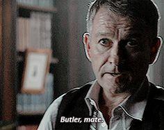 Alfred Pennyworth.- Gotham 1x10 Gotham Quotes, Dc Comics, Tv Series