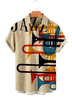 Collar Shirts, Men's Shirts, Stylish Men, Men Casual, Workout Shorts, Vintage Shirts, Types Of Sleeves, Printed Shirts, Casual Shirts