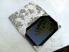 Tablet in the cover by lisaclarke, via Flickr