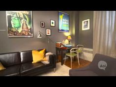 Beautiful apt makeover for couple living together - Your Place is a Deal Breaker video - YouTube