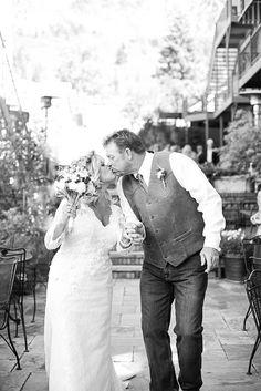 Little Elaine Photography Beaumont Hotel, Ouray Colorado, Pagosa Springs, Hotel Wedding Venues, Wedding Kiss, Winter Park, Weddings, Couple Photos, Wedding Dresses