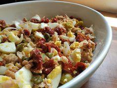 Salad Recipes, Healthy Recipes, Spanish Dishes, Malaga, Superfoods, Potato Salad, Tapas, Oatmeal, Food And Drink