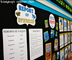 Ladybug's Teacher Files: Genre Board {printable}  Will use this one with the Children's lit class I teach!  Great  ideas.