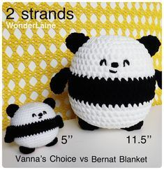Mesmerizing Crochet an Amigurumi Rabbit Ideas. Lovely Crochet an Amigurumi Rabbit Ideas. Crochet Panda, Crochet Bear, Crochet Gifts, Cute Crochet, Crochet Dolls, Crochet Animals, Crochet Stitches Patterns, Crochet Designs, Easy Crochet Projects