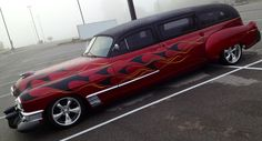 1940's hot rod chopped Cadillac limo.iPhoto by Matt Jury